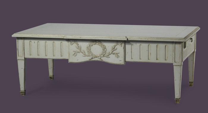 plus récent c1078 4c6cf Table basse Louis XVI - Atelier de Brou