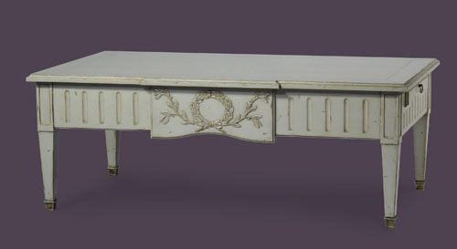 Table basse Louis XVI  Atelier de Br -> Able Basse Louis Xvi